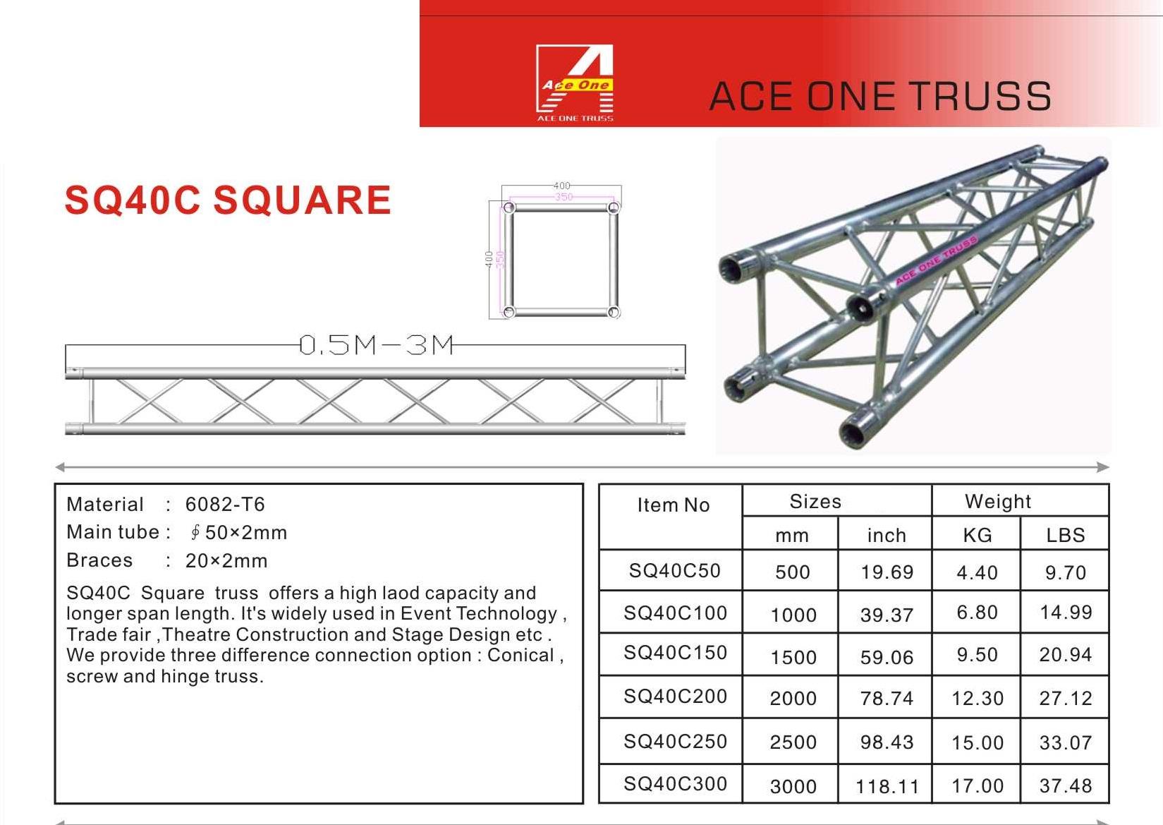 sq40c square